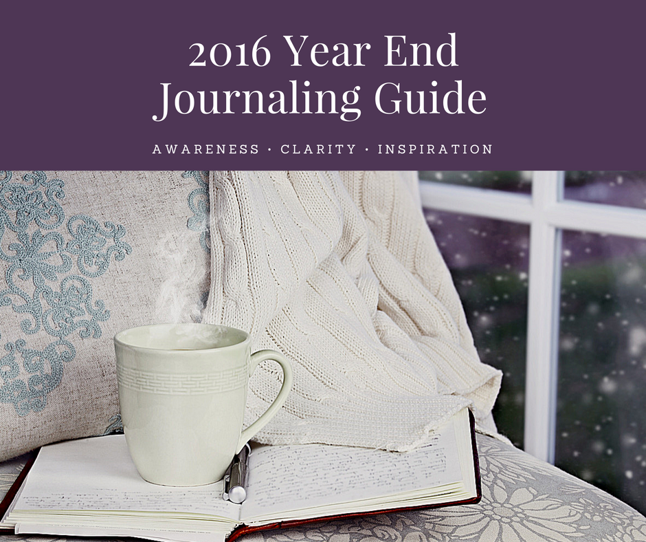 2016 Year End Journaling Graphic